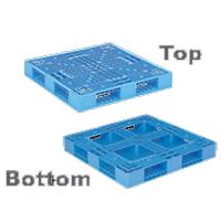 SANKO Plastic Pallet D Type Double Deck