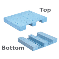 SANKO Plastic Pallet S Type Single Deck