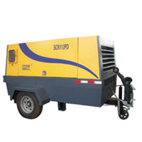 SCR Diesel Portable Screw Compressor Series_132KW