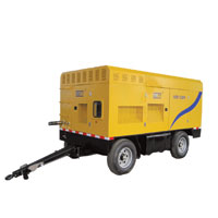 SCR Electricity Portable Screw Compressor Series