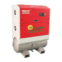 SCR Oil Free Scroll Air Compressor_SCR 3X