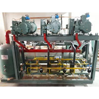 Screw Compressor Pack Installation