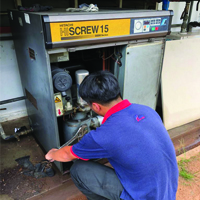Service & Repair Hitachi Air Compressor