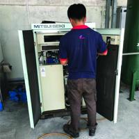 Service & Repair Mitsui Seiki  Air Compressor