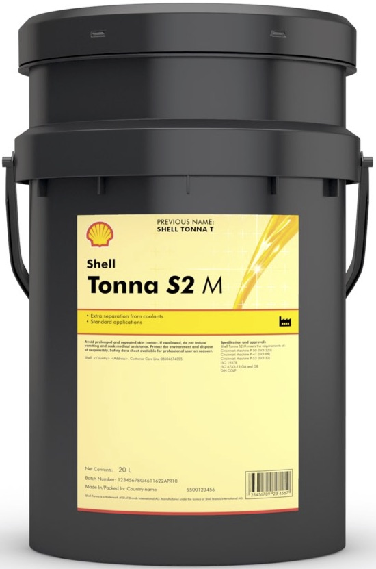 Shell Tonna Slideway Oils