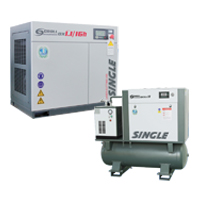 SINGLE Indusrial Screw Compressor