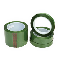 Single Sided Green Polyester Tape