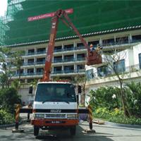 Skylift Rental 24 Meter, Forest City Gardening