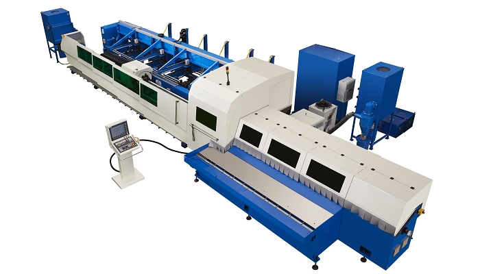 SOCO Fiber Laser Tube Cutting Line Machine