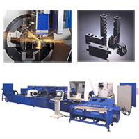 SOCO Laser Cutting Line For Tubes And Profiles
