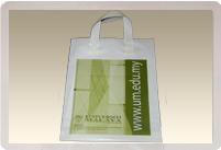 Soft Loop Handle Shopping Bag
