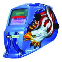 Solar Helmet Blue Eagle