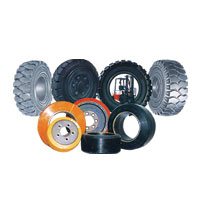 Solid Tyres & Wheel