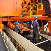 Stacker Reclaimer Chute Fabrication And Replacement Works