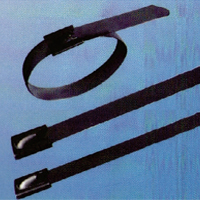 Stainless Steel Fully Coated Ball Lock Cable Tie