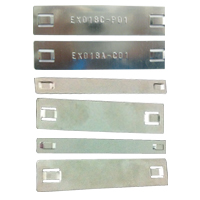 Stainless Steel Label Strip