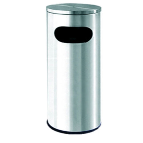 Stainless Steel Litter Bin Flat Top – RAB-001/F & RAB-002/F