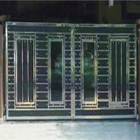 Stainless Steel Main Gate With Aluminium