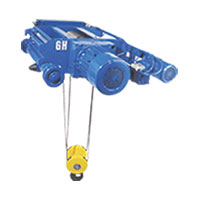 Standard Double Grinder Crab Electric Wire Rope Hoist