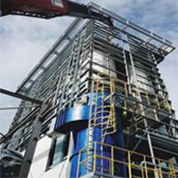 Steel Structure & Equipment Installation Work