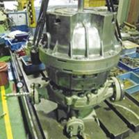 Sundyne Pump Gear Box Repair
