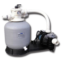 Swimming Pool Pump  & Sand Filter