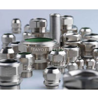 TAIYO Nickle Plated Brass Cable  Gland
