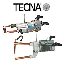 TECNA HD Suspended Air Operated Spot Welding Guns For Heavy Duty