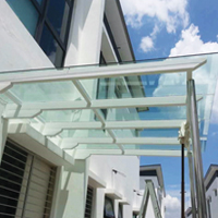 Tempered Glass Awning