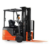 Toyota 3 Wheeler Battery Forklift