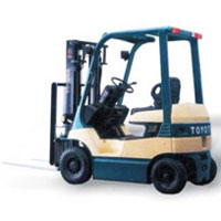 Toyota Battery Forklift 7 Series