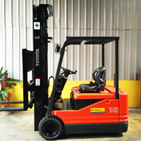 Toyota Electric Powered Forklift 3 Wheel Type - 5FBE 10-20 Series