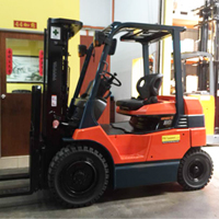 Toyota Electric Powered Forklift 4-Wheel Type 7FB10-35 Series
