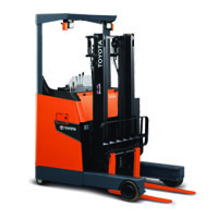 Toyota Electric Reach Forklift Rental