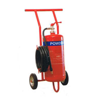 Trolley Powder Fire Extinguisher 70Kg, 50Kg, 25Kg
