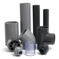 UPVC, SCH80, SCH40 Pipes