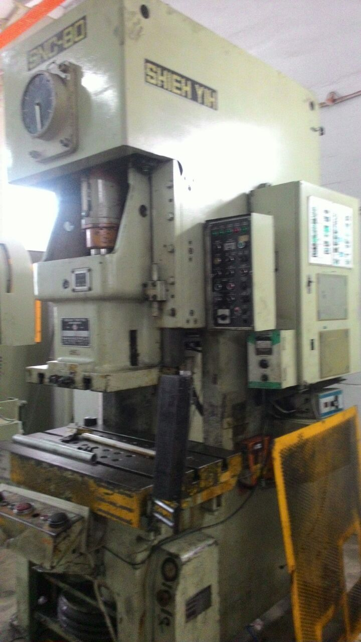 USED SEYI 80 TON POWER PRESS