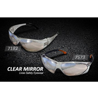 Uvee Safety Eyewear (Clear Mirror)