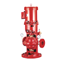 Vertical Split Case Electric Drive Fire Pump Series 912